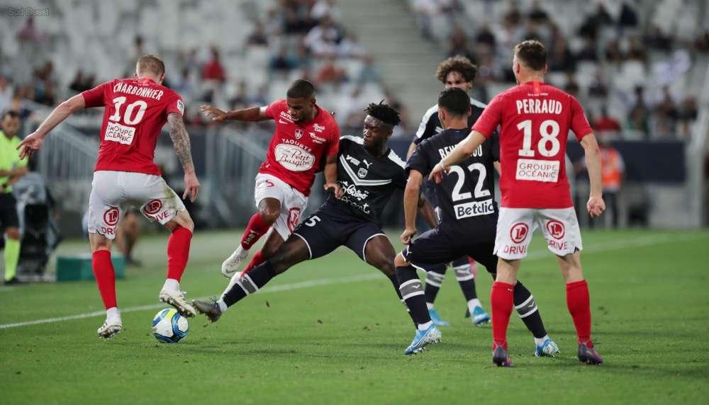 Girondins 2-2 Stade Brestois